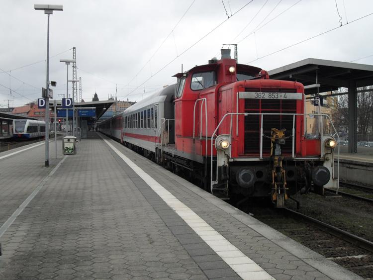 Bahnverbindung Karlsruhe