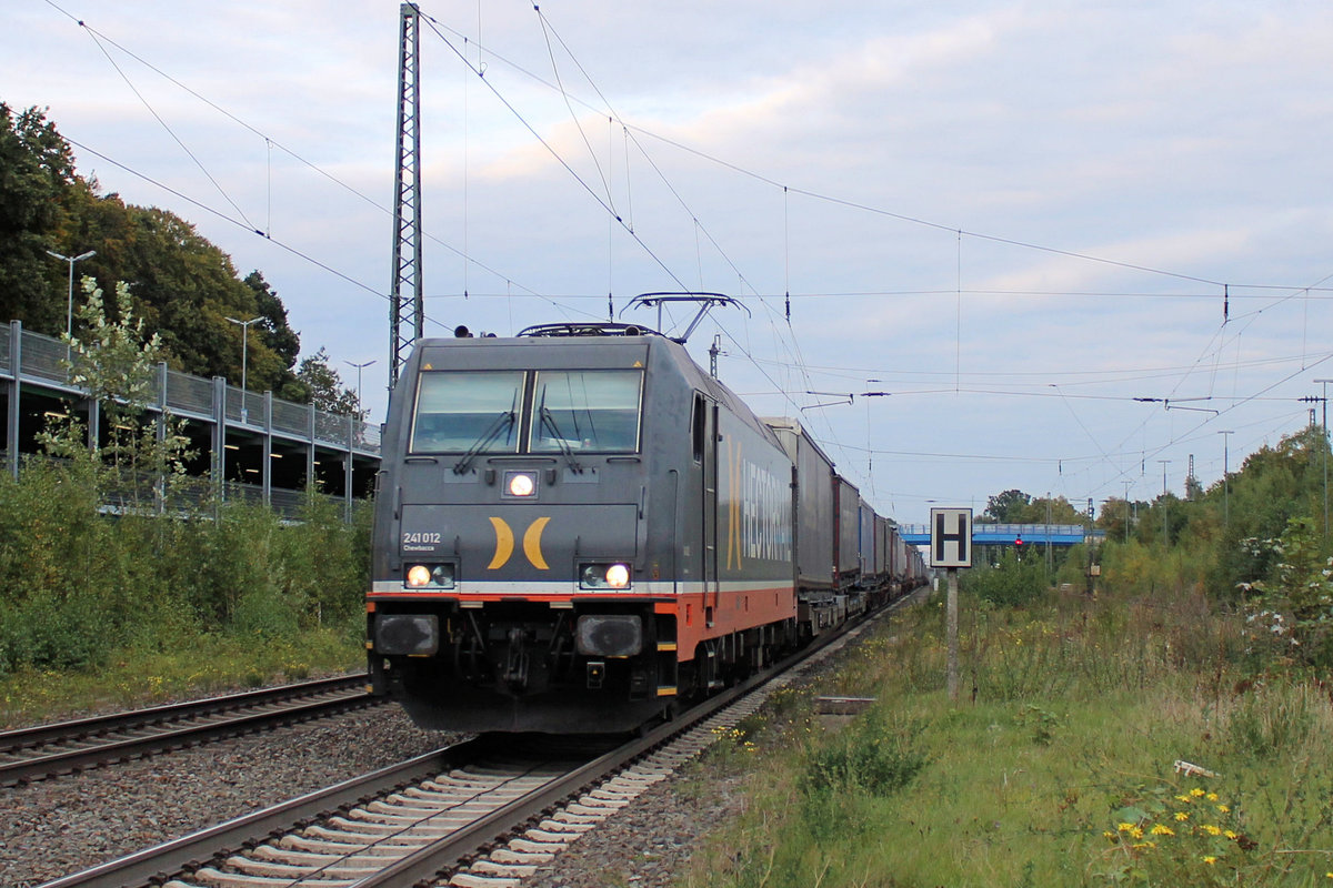 241.012 Hectorrail am 29.09.2020 in Tostedt.