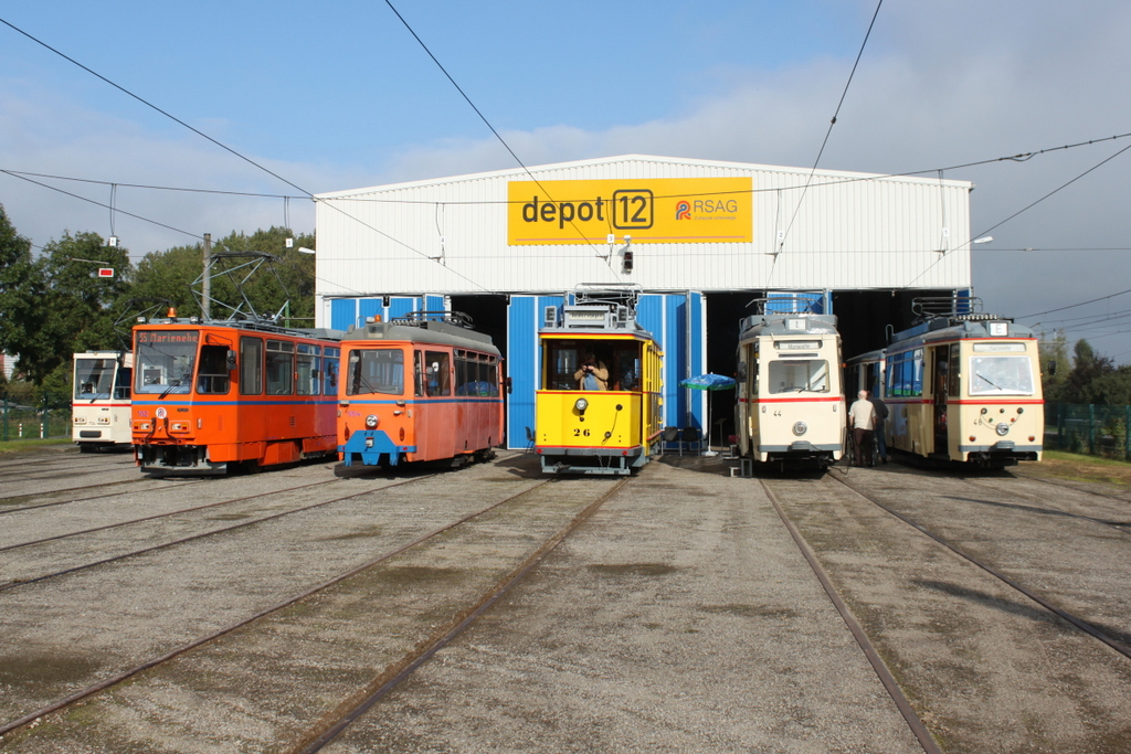 Ckd Tatra Wagen T6a2 704 552 Und Lowa Wagen 554 Wagen 26