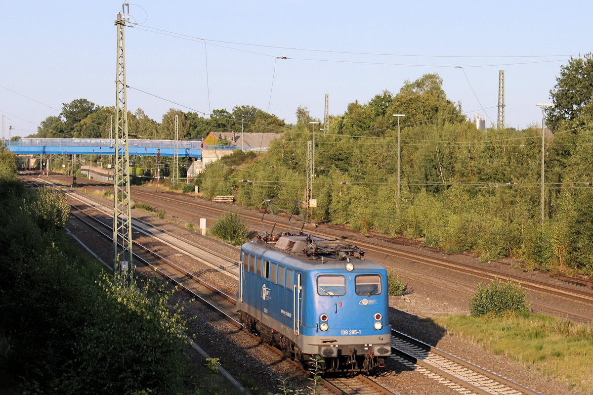 EGP 139 285-1 am 14.09.2020 in Tostedt.