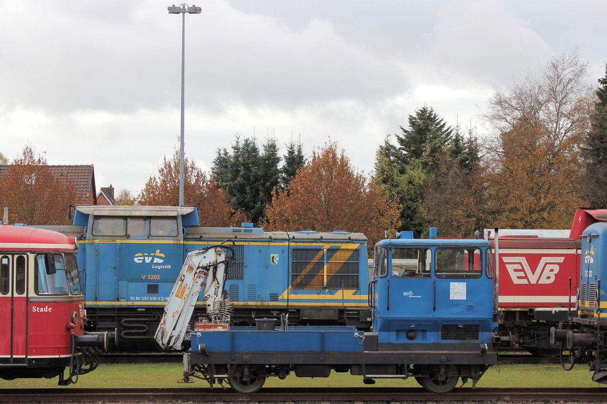 EVB SKL 506 am 30.10.2016 in Bremervörde.