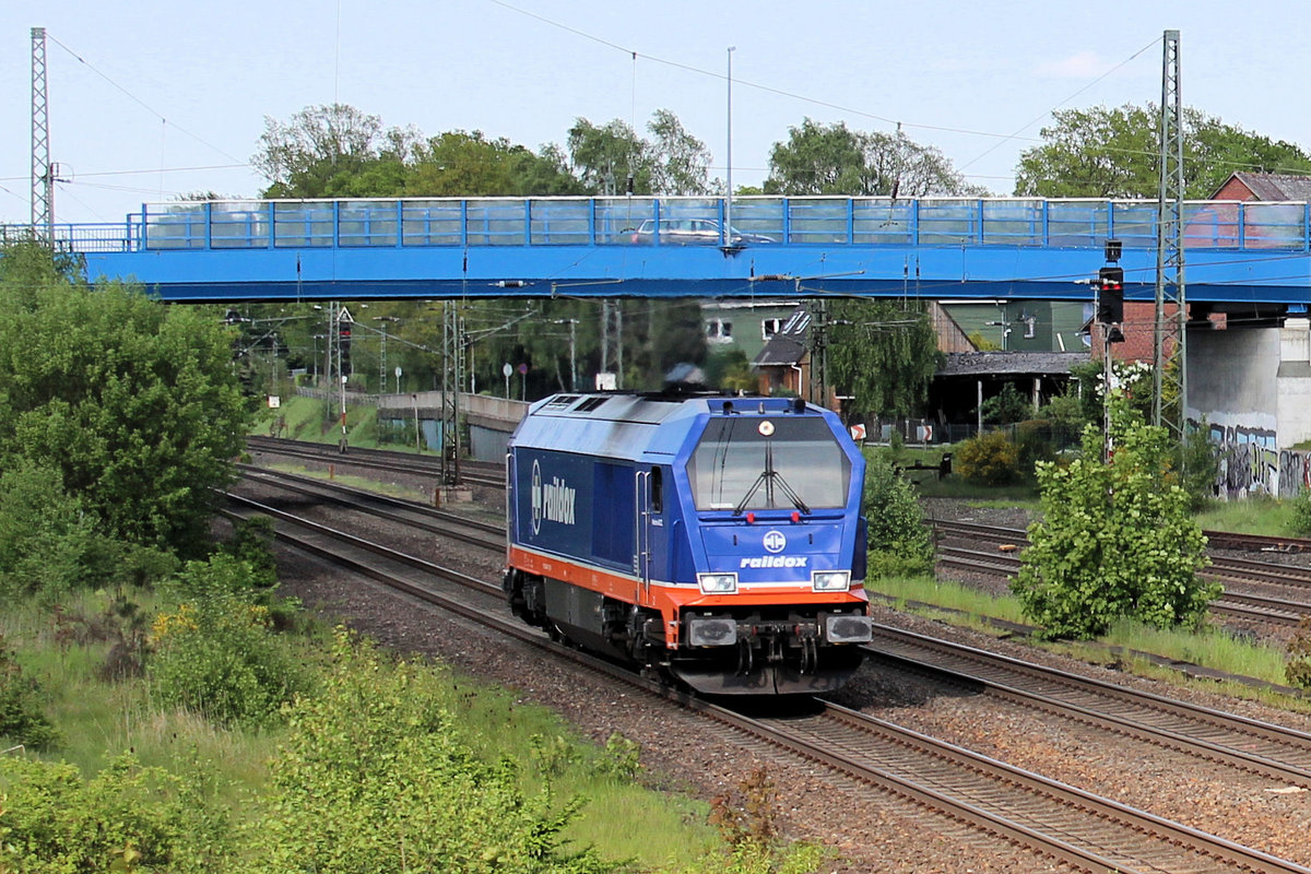 raildox - Maxima 264 002-7 am 17.05.2017 in Tostedt.