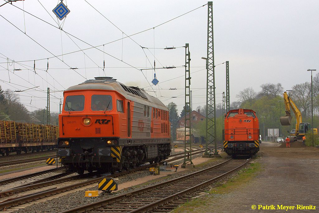 RTS 230.077 & RTS 293.004 in Stade Gbf. am 25.04.2015