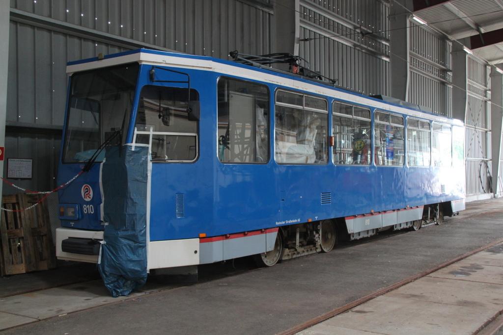 Die Stra Enbahn Vom Typ Vossloh 6n2 Stand Am
