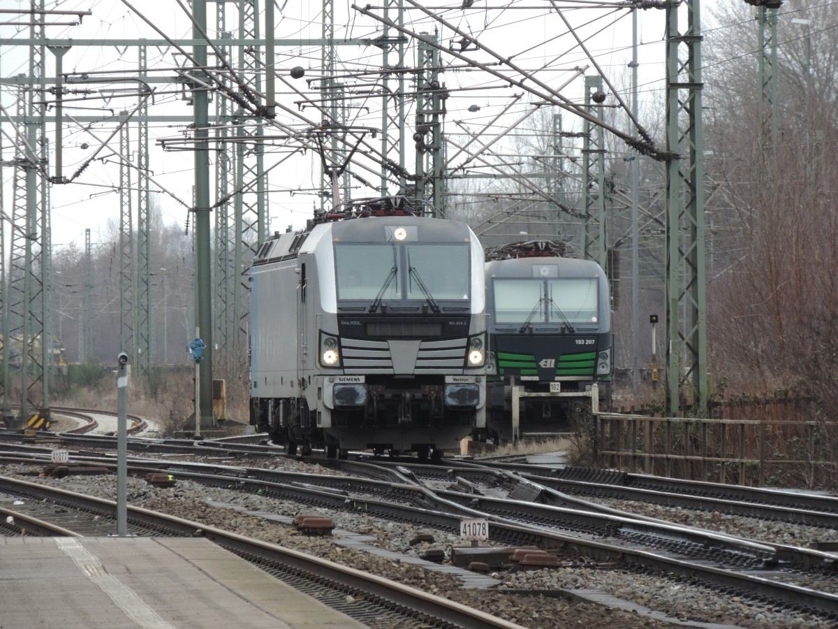 Vectron-Treffen am 22.03.2016 in Hamburg-Harburg.