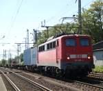 Hamburg-Spezial/143198/140-490-4-kam-zum-1mal-bei 140 490-4 kam zum 1.Mal bei dem Fotograf vorbei im Bahnhof Hamburg-Harburg(04.06.2011)