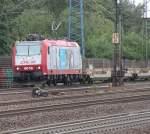 Hamburg-Spezial/151434/lok-4018-bei-der-durchfahrt-im Lok 4018 bei der Durchfahrt im Bahnhof Hamburg-Harburg.(23.07.2011)