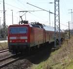 Rostock-Spezial/133238/143-250-9-mit-s2-von-warnemuende 143 250-9 mit S2 von Warnemünde nach Güstrow kurz nach der Ausfahrt im Rostocker Hbf(15.04.2011)