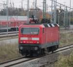Rostock-Spezial/165224/143-303-6-als-s1-nach-rostock 143 303-6 als S1 nach Rostock Hbf bei der Ausfahrt in Richtung Berlin im Rostocker Hbf.30.10.2011