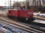 v100-ost-west/117439/298-318-unterwegs-am-27januar-2011 298 318 unterwegs am 27.Januar 2011 in Bergen/Rügen.