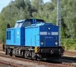 v100-ost-west/285174/204-016-0-beim-rangieren-im-bahnhof 204 016-0 beim Rangieren im Bahnhof Rostock-Bramow.09.08.2013
