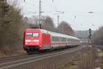 BR 101/544748/101-003-2-am-08032017-in-sproetze 101 003-2 am 08.03.2017 in Sprötze.