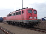 BR 140/488504/140-621-4am-04april-2016in-der-est 140 621-4,am 04.April 2016,in der Est Mukran.Zu erkennen auch die Baltic Port Rail V60.02.