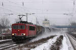 BR 155/532890/155-149-8-am-22122012-in-tostedt 155 149-8 am 22.12.2012 in Tostedt.