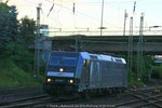 MRCE / CTLL 185 566 Lz am 05.09.2016 in Hamburg-Harburg