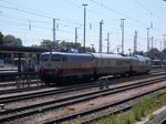 Die E10 1309,am 07.Juni 2016,in Stralsund