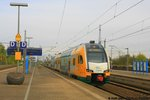 ODEG ET445.103 als RE 2 nach Cottbus am 30.04.2016 in Ludwigslust