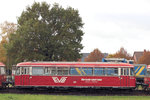 evbevb-logistik/526243/moorexpress-evb-168-bremen-am-30102016 Moorexpress EVB 168 'Bremen' am 30.10.2016 in Bremervörde / EVB Betriebshof.