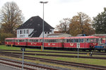 EVB Moorexpress am 30.10.2016 in Bremervörde.