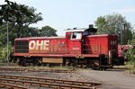 OHE 160074 (295 951-8) am 26.08.2011 in Celle (OHE-Betriebshof).