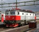 Kiel-Bergen-Oslo-Goteborg-Kopenhagen/153806/sj-lok-1334-steht-im-bahnhof-goeteborg10082011 SJ-Lok 1334 steht im Bahnhof Göteborg(10.08.2011)
